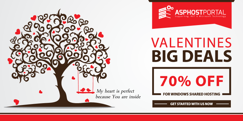 Reliable ASP.NET 5 Hosting | Valentine's Day Hosting Promotion