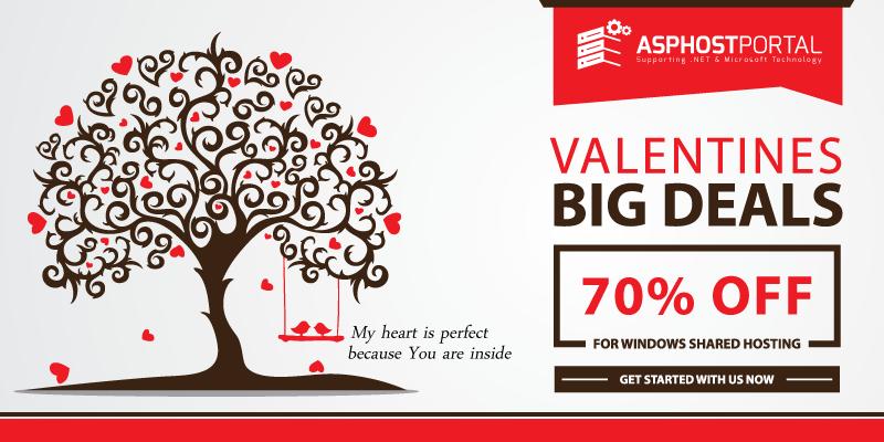 Reliable ASP.NET 5 Hosting | Valentine's Day Hosting Promotion