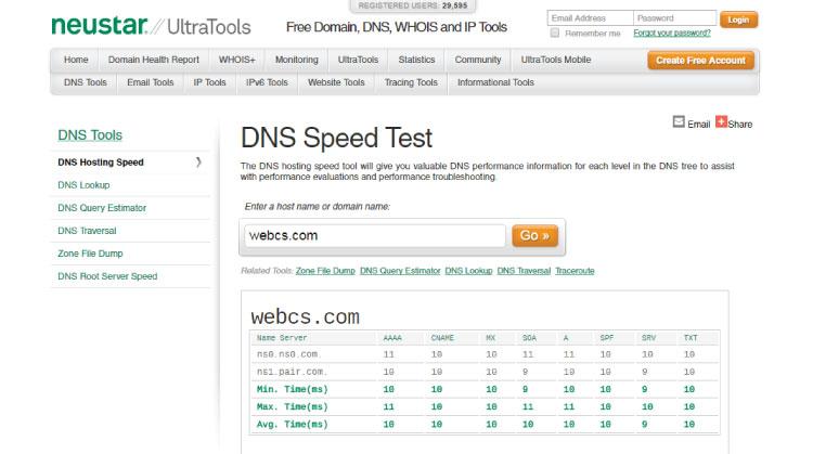 webcsspeed