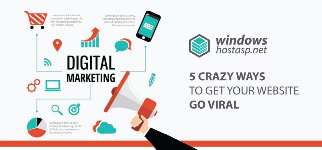 5 Crazy Ways To Get Your Website Go Viral